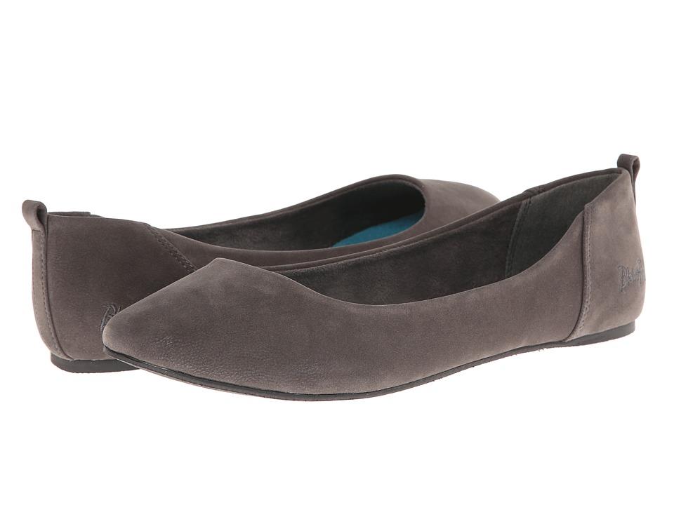 Shop Blowfish online and buy Blowfish Nice Grey Fawn PU Women's Flat Shoes online