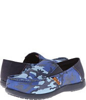 Crocs Kids - Santa Cruz Camo Loafer GS (Little Kid/Big Kid)