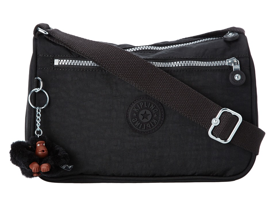Kipling - Callie Eyelet Handbag (Black) Handbags