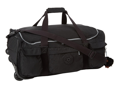 Kipling Discover Small Wheeled Luggage Duffle - Black