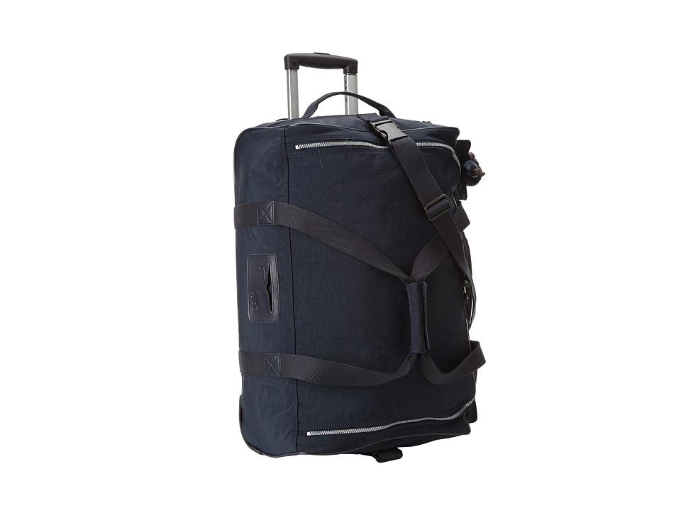 Kipling Discover Small Wheeled Luggage Duffle (True Blue)...