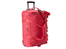 Kipling Discover Small Wheeled Luggage Duffle (Vibrant Pink)