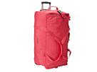 Kipling Discover Large Wheeled Luggage Duffle (Vibrant Pink)
