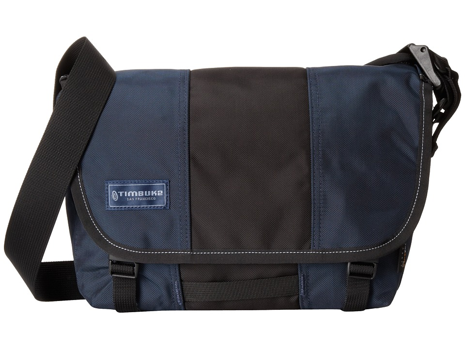Timbuk2 Classic Messenger Bag Extra Small Dusk Blue/Black Messenger Bags