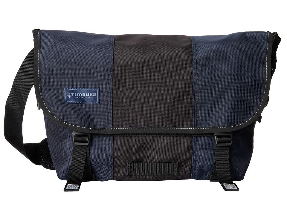 Timbuk2 - Classic Messenger Bag - Medium (Dusk Blue/Black) Messenger Bags