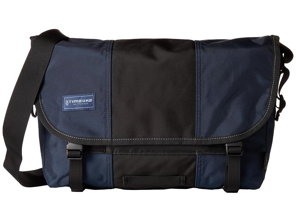 Timbuk2 - Classic Messenger Bag - Small (Dusk Blue/Black) Messenger Bags