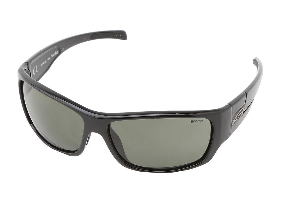 Smith Optics Frontman Black Frame/Polar Gray Green Carbonic TLT Lenses Athletic Performance Sport Sunglasses