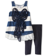 Pippa & Julie - Bow Knit Set (Toddler/Little Kids)