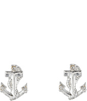Betsey Johnson - Anchor Stud Earrings