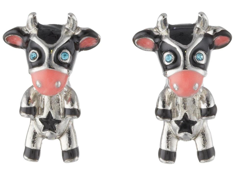 Betsey Johnson - Cow Stud Earrings