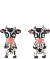 Betsey Johnson - Cow Stud Earrings