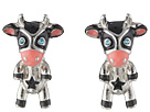 Betsey Johnson Betsey Johnson Cow Stud Earrings