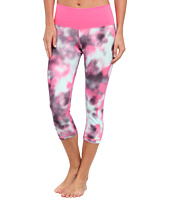 adidas - Performer Mid-Rise Blurred Flowers Three-Quarter Tight