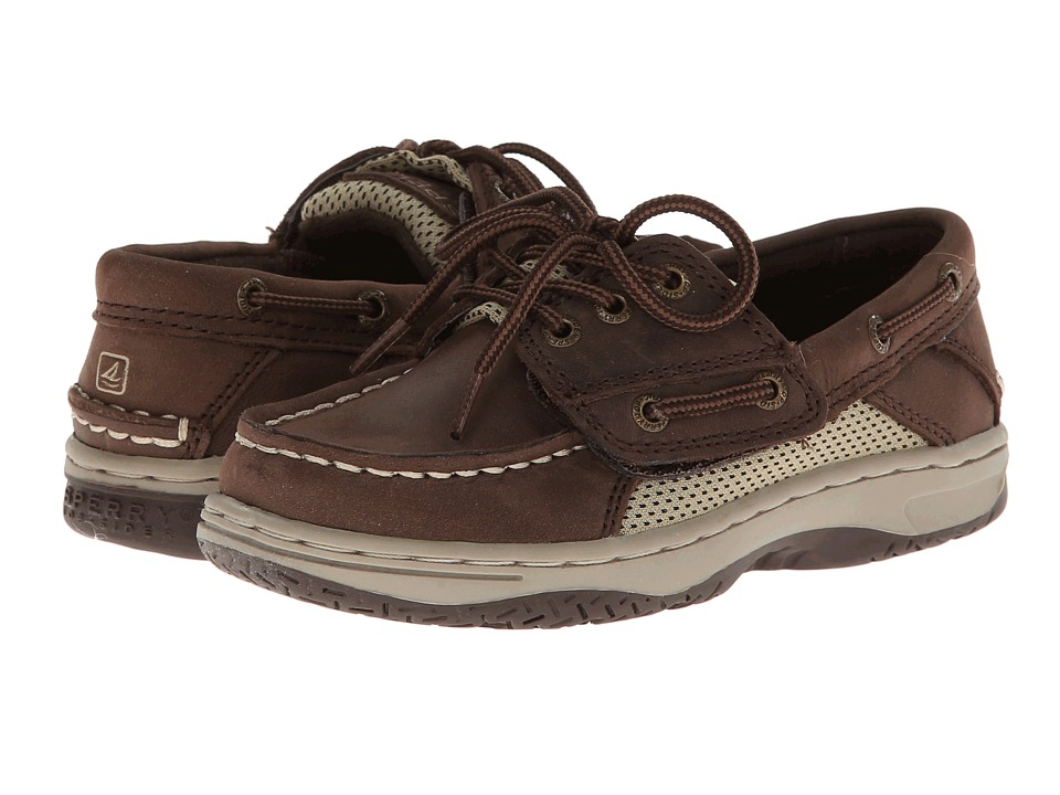 Sperry Top-Sider Kids - Billfish A/C (Toddler/Little Kid) (Chocolate Leather) Boys Shoes