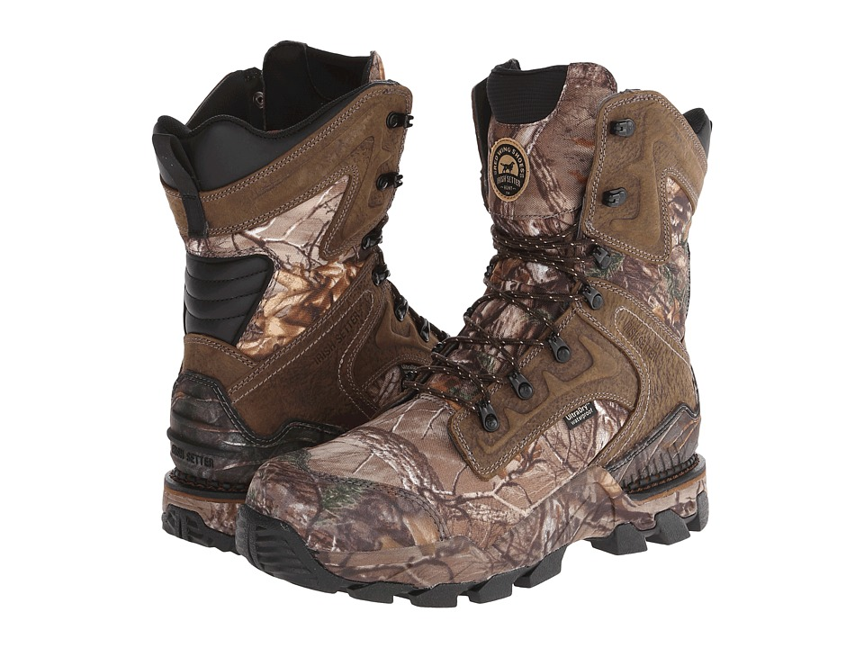Irish Setter 4837 Deer Tracker Realtree Xtra/Brown Mens Boots