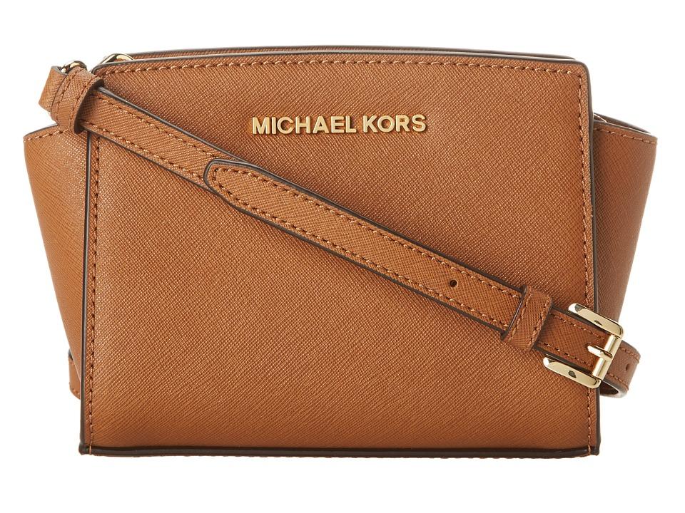 MICHAEL Michael Kors Selma Mini Messenger Luggage Cross Body Handbags
