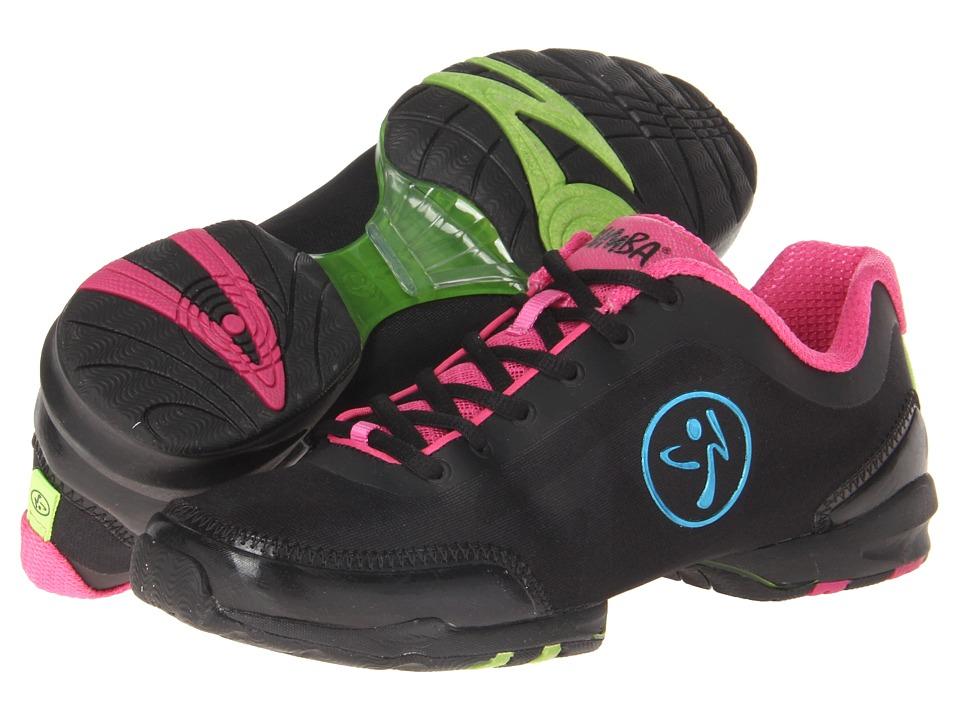 Zumba Zumba Flex Classic Black/Fuchsia Womens Shoes