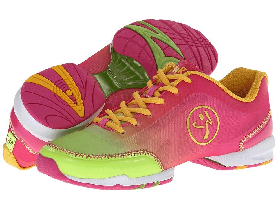 Zumba Zumba Flex Classic (Fuchsia/Lime) Women's Shoes