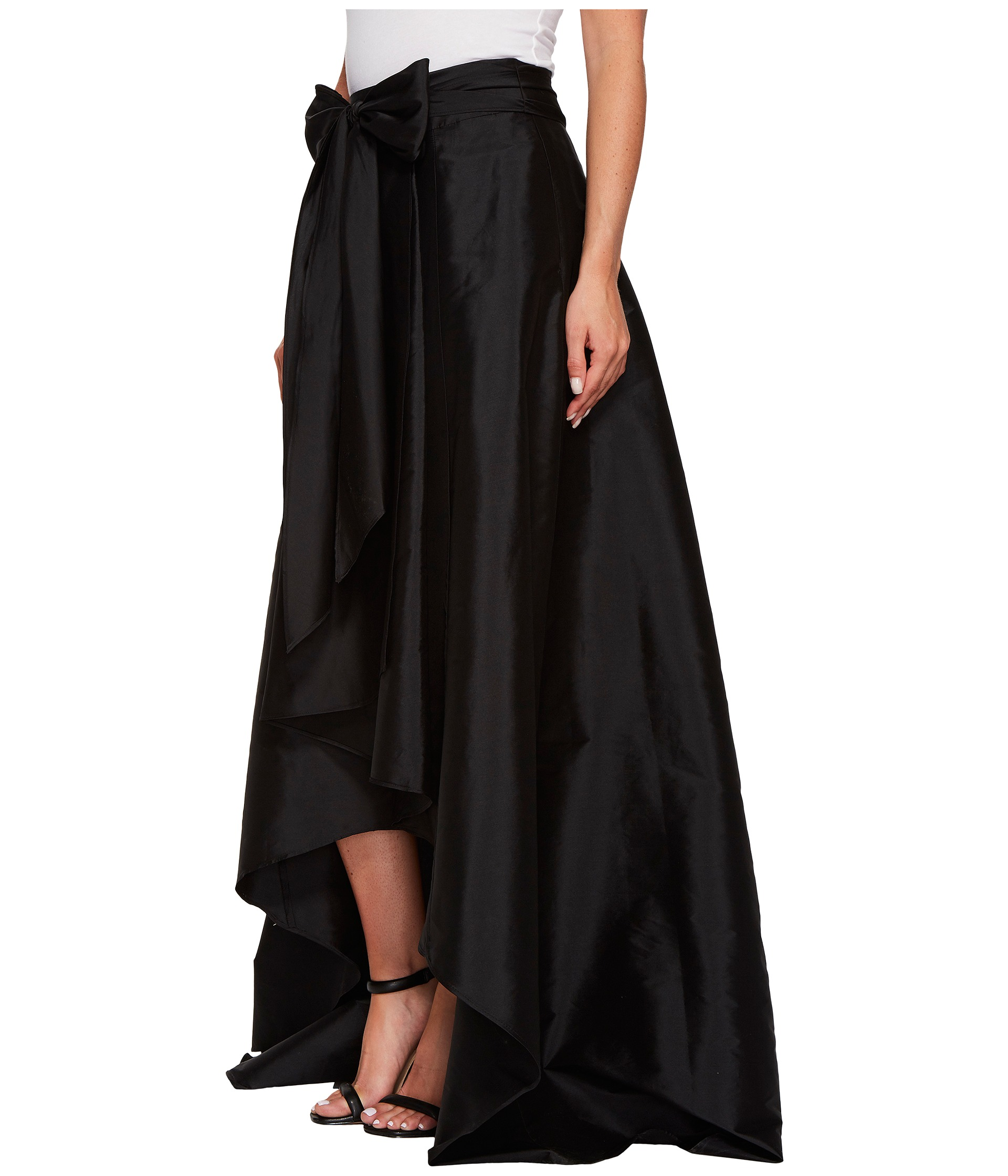 papell high low skirt at zappos