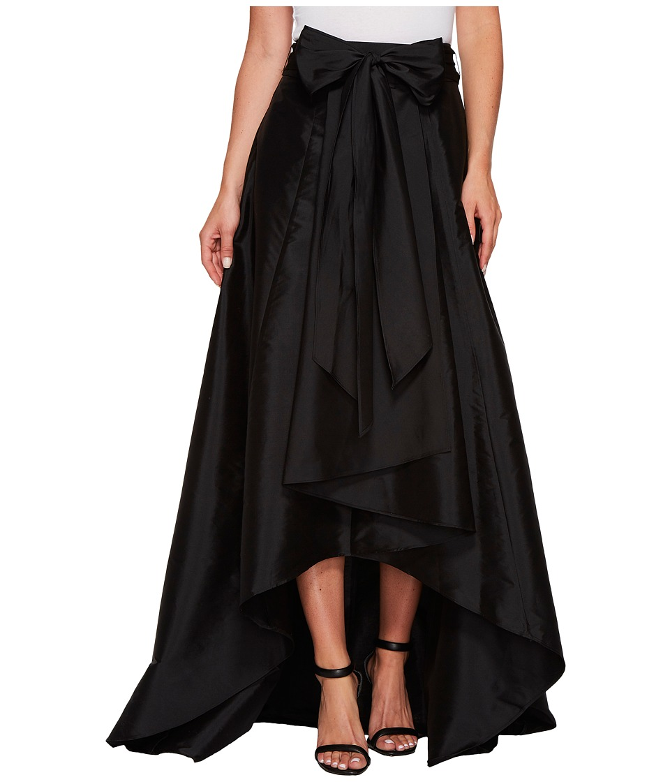 Adrianna Papell - High-Low Ball Skirt Black Womens Skirt $120.00 AT vintagedancer.com