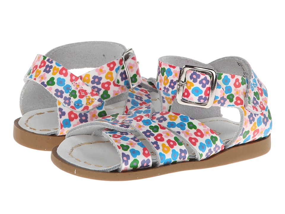 Salt Water Sandals The Original Sandal (Infant/Toddler) (Floral) Girls Shoes