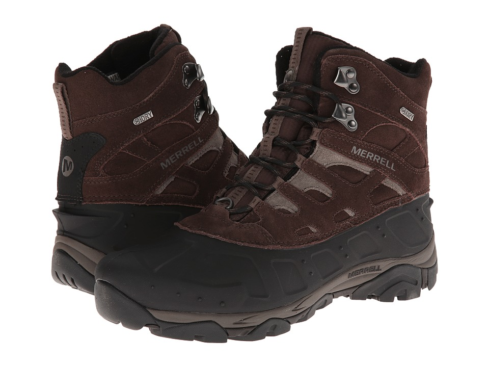 Merrell - Moab Polar Waterproof (Espresso) Men