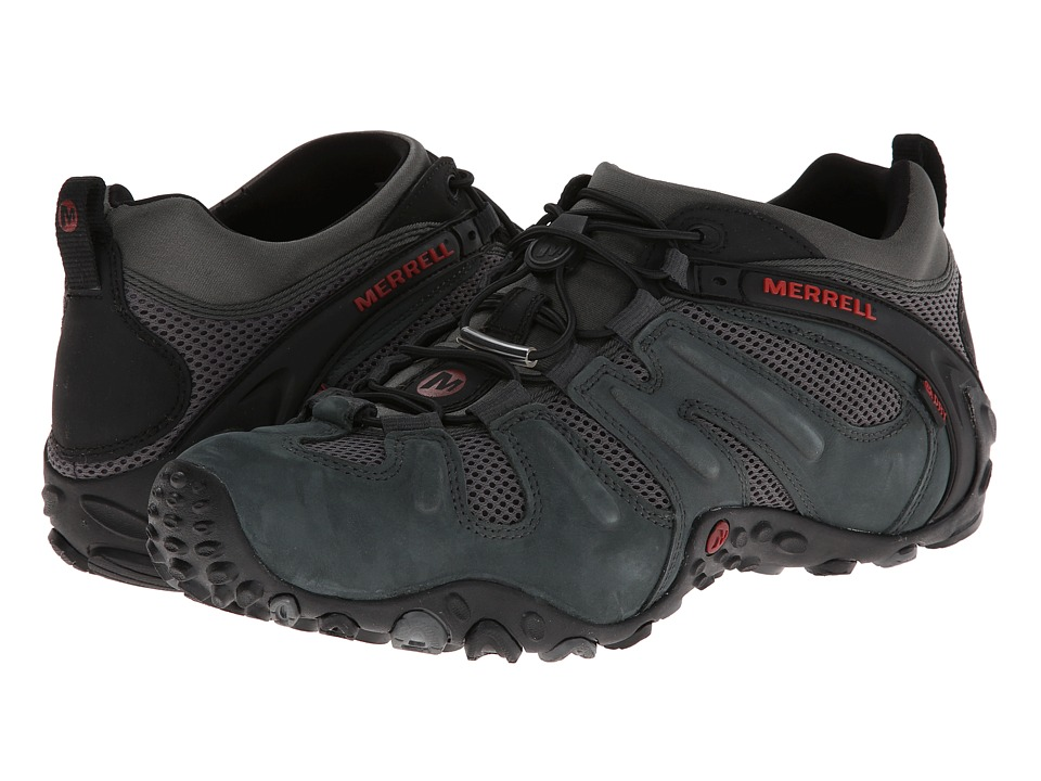Merrell - Chameleon Prime Stretch Waterproof (Granite) Mens Shoes