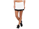 adidas - Galaxy Skort (White/Black)