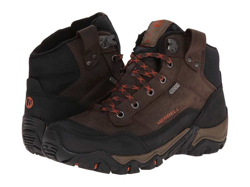 Merrell - Polarand Rove Waterproof (Black Slate) Men