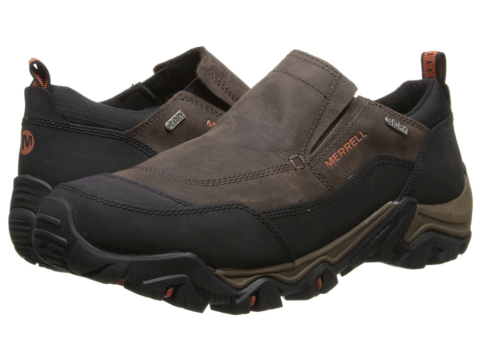 Merrell - Polarand Rove Moc Waterproof (Black Slate) Men