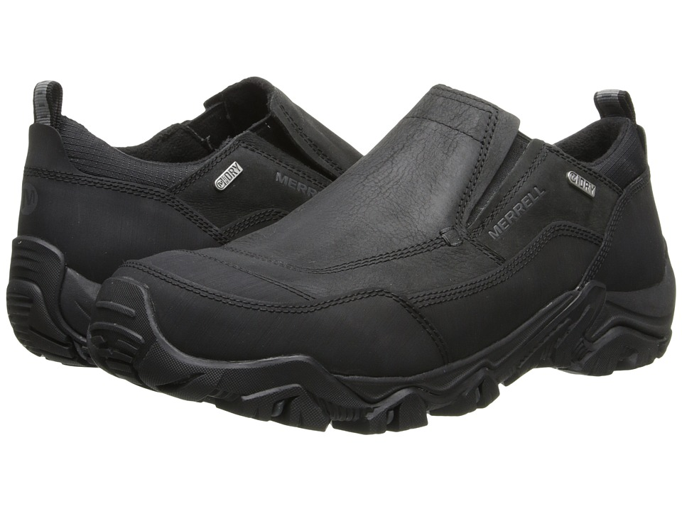 Merrell - Polarand Rove Moc Waterproof (Black) Men