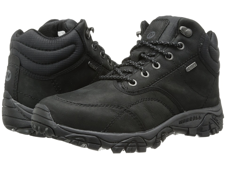 Merrell - Moab Rover Mid Waterproof (Black) Men