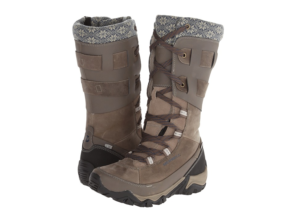 Merrell - Polarand Rove Peak Waterproof (Boulder) Women