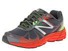 New Balance Kids 880v4 Little Kid, Big Kid Grey, Orange Shoes