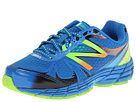 New Balance Kids 880v4 Little Kid, Big Kid Blue, Green Shoes