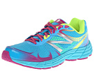 New Balance Kids 880v4 Little Kid, Big Kid Blue, Purple Shoes