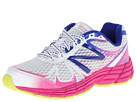 New Balance Kids 880v4 Little Kid, Big Kid White, Pink Shoes