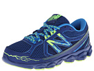 New Balance Kids 750v3 Little Kid, Big Kid Blue, Yellow Shoes
