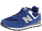 New Balance Kids KL574 Big Kid Blue Shoes