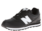 New Balance Kids KL574 Big Kid Black Shoes