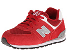 New Balance Kids 574 Infant, Toddler Red Shoes