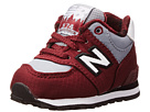 New Balance Kids 574 Infant, Toddler Burgundy Shoes