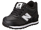New Balance Kids 574 Infant, Toddler Black Shoes