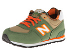 New Balance Kids 574 Infant, Toddler Green Shoes