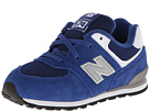 New Balance Kids 574 Infant, Toddler Blue Shoes