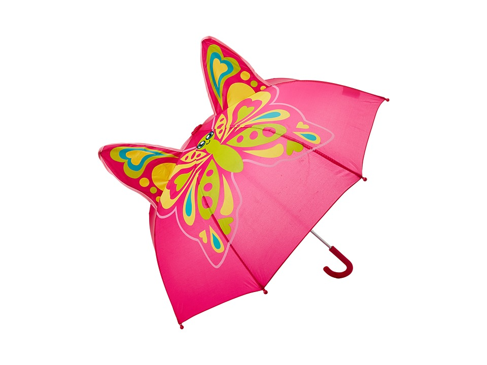 Western Chief Kids Butterfly Star Umbrella Pink Umbrella