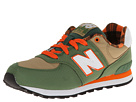 New Balance Kids KL574 Little Kid Green 14 Shoes