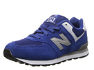New Balance Kids KL574 Little Kid Blue 14 Shoes