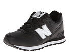 New Balance Kids KL574 Little Kid Black 14 Shoes