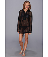 Vince Camuto - Glamorous Outdoors Hoodie Cover Up